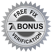 Click To Learn More About Your Free Fix Verification Bonus